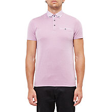 Buy Ted Baker Super Geo Print Collar Polo Shirt Online at johnlewis.com