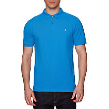 Buy Original Penguin Raised Rib Polo Top, French Blue Online at johnlewis.com