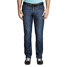 Buy BOSS Green C-Maine1 Trousers, Medium Blue Online at johnlewis.com