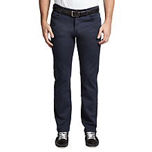 Buy BOSS Green C-Maine Straight Jeans, Navy Online at johnlewis.com