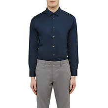 Buy Ted Baker Raabin Satin Stretch Shirt Online at johnlewis.com