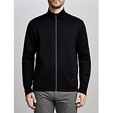Buy BOSS Green C-Cannonio Zipped Sweatshirt, Black Online at johnlewis.com