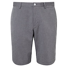 Buy BOSS Green C-Clyde2-5-W Patterned Shorts, Black Online at johnlewis.com