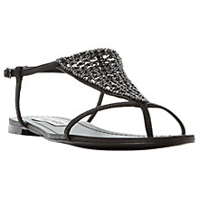Buy Steve Madden Chasity Beaded Flat Sandals Online at johnlewis.com
