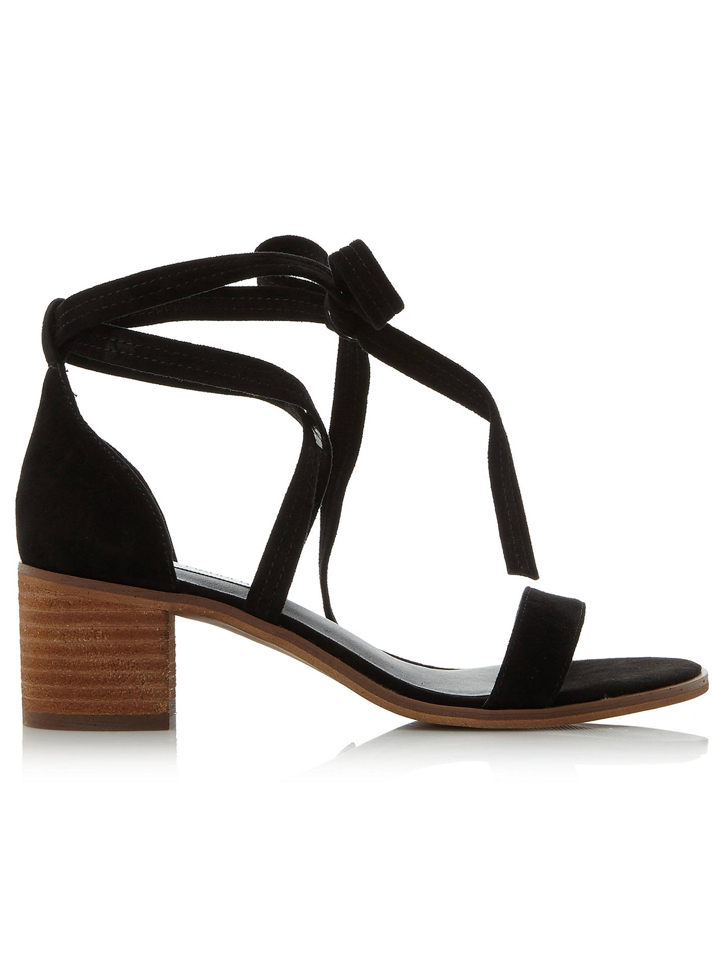 b5a4b3372a2 Steve Madden Rizza Tie Sandals at John Lewis   Partners
