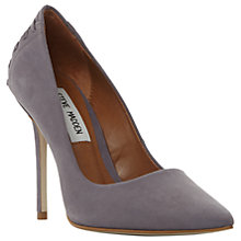 Buy Steve Madden Paiton Lace Detail Stiletto Heel Court Shoes Online at johnlewis.com