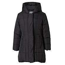 Buy John Lewis Padded School Coat, Black Online at johnlewis.com