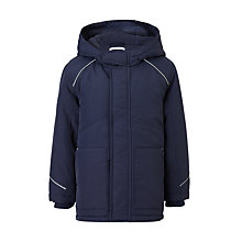 Buy John Lewis Unisex School Coat, Navy Online at johnlewis.com