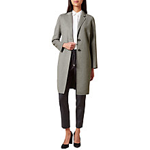 Buy Hobbs Chloe Coat, Grey Online at johnlewis.com