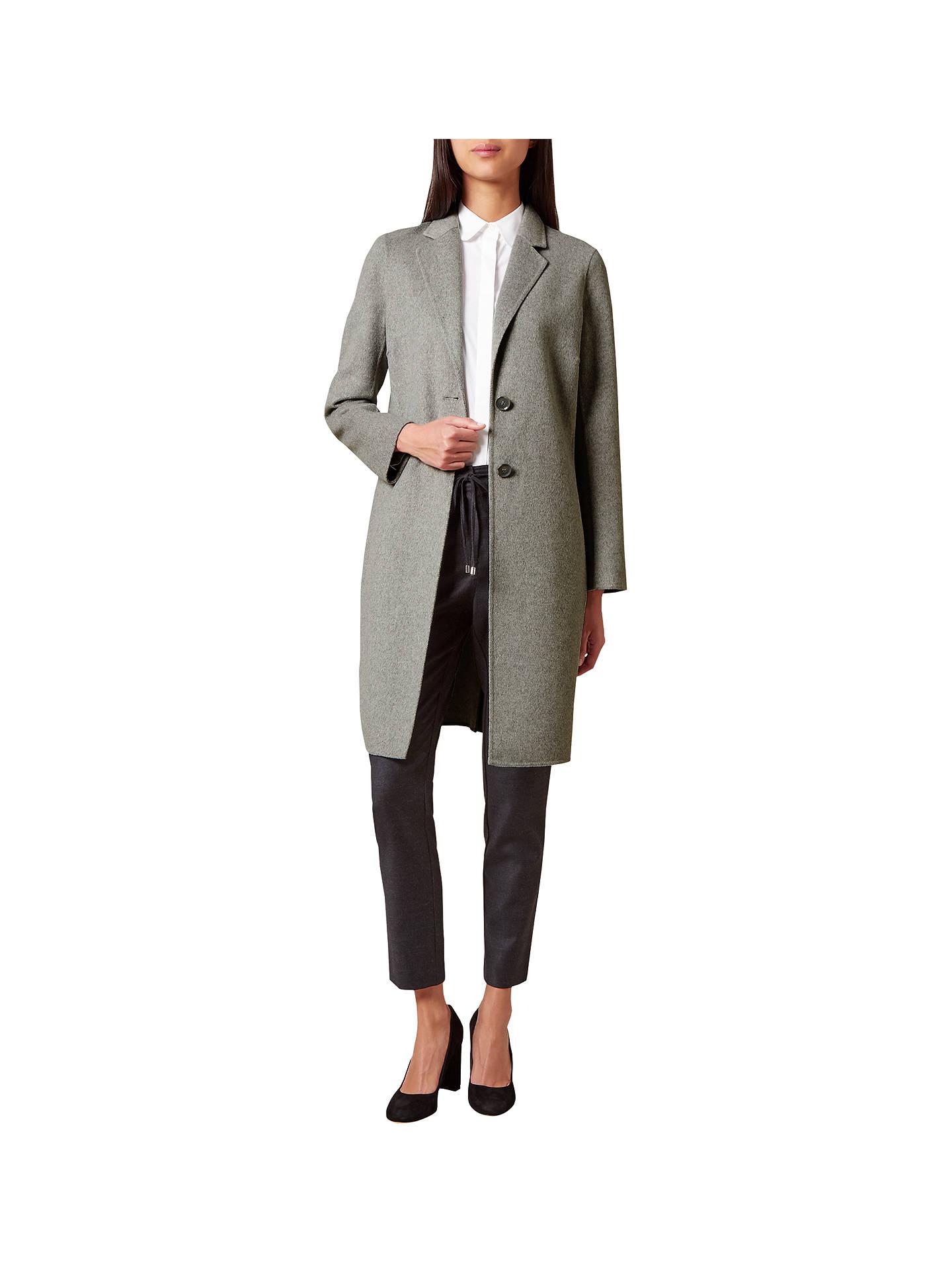 63fcac69d3 Hobbs Chloe Coat, Grey at John Lewis & Partners