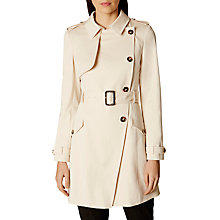 Buy Karen Millen Spring Mac, Neutral Online at johnlewis.com