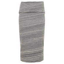 Buy Mint Velvet Space Dye Tube Skirt, Grey/Multi Online at johnlewis.com