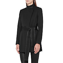 Buy Reiss Lucy Short Belted Coat Online at johnlewis.com
