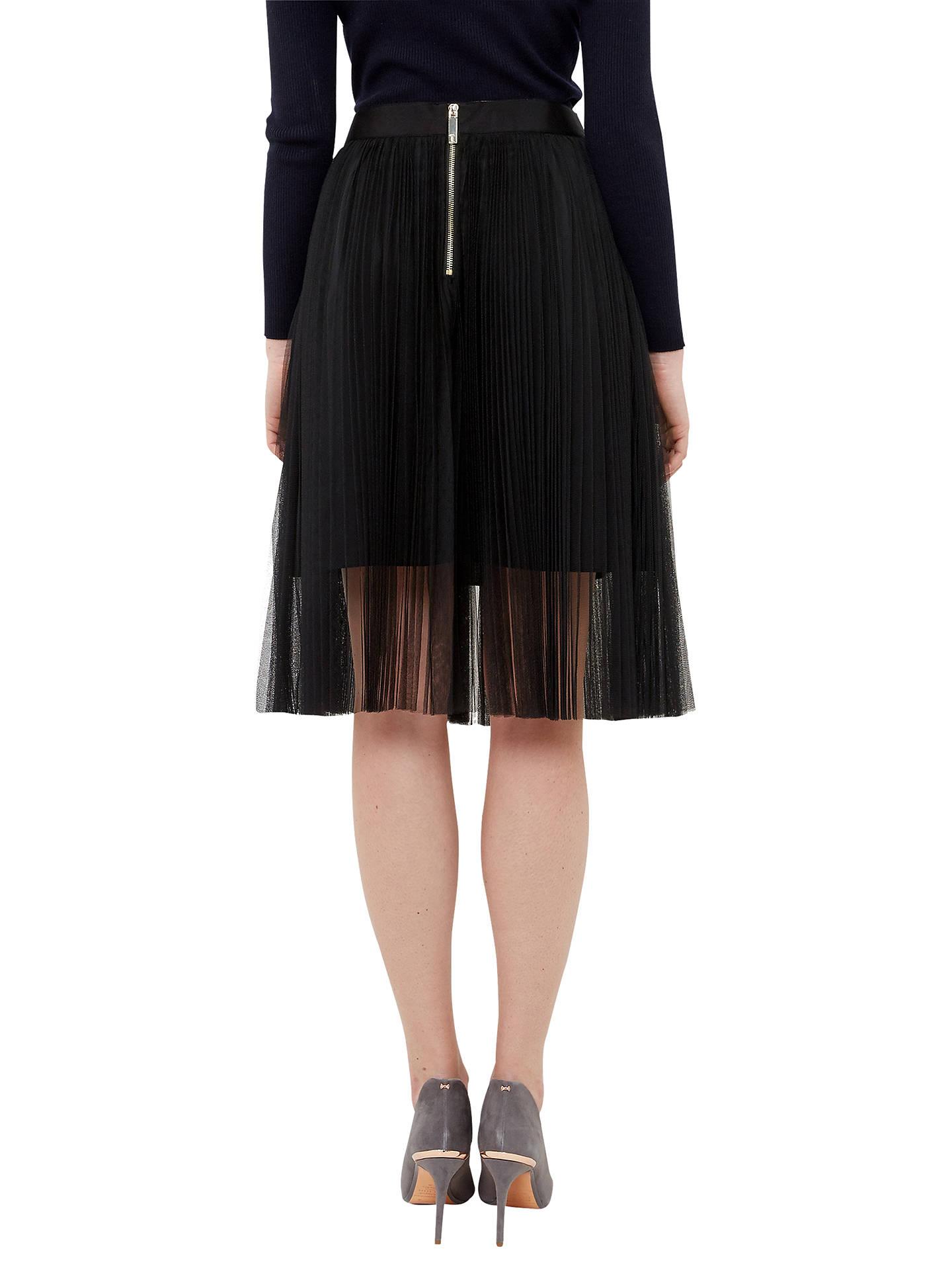 b2be012cc ... Buy Ted Baker Filita Tulle Skirt, Black, 0 Online at johnlewis.com ...