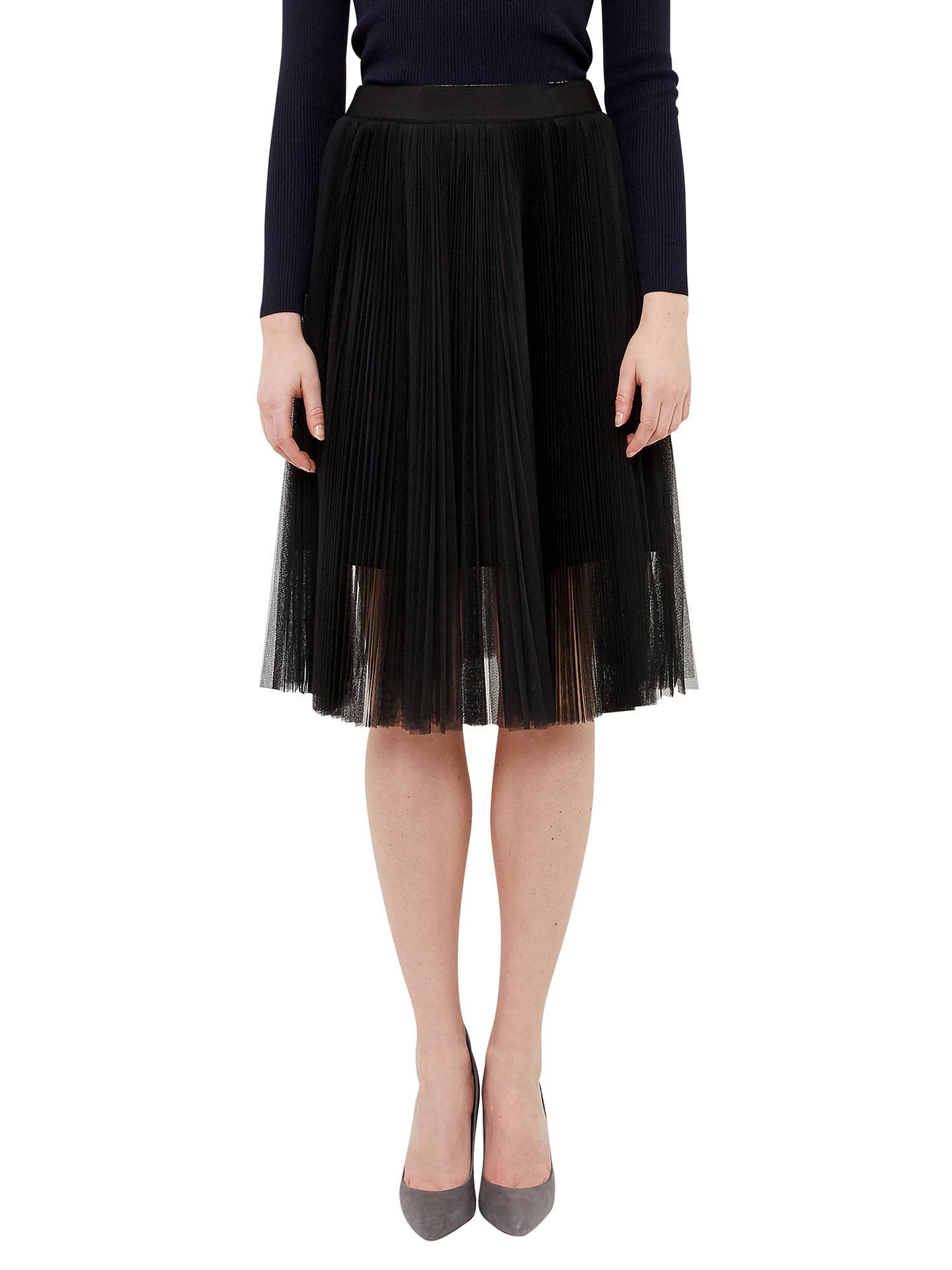 1c46c2484 Buy Ted Baker Filita Tulle Skirt, Black, 0 Online at johnlewis.com ...