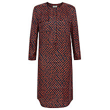 Buy Hobbs Kaia Tunic Dress, Red/Navy Online at johnlewis.com