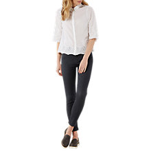 Buy White Stuff Skinny Jeans, Charcoal Online at johnlewis.com