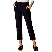 Buy Karen Millen Useful Summer Trousers, Denim Online at johnlewis.com