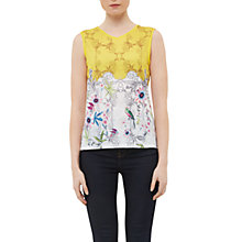 Buy Ted Baker Tobolo Passion Flower Vest, Yellow Online at johnlewis.com
