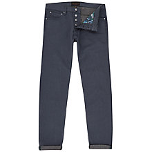 Buy Ted Baker Slippa Straight Fit Jeans, Grey Online at johnlewis.com