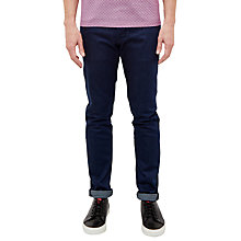 Buy Ted Baker T for Tall Sidett Straight Fit Jeans, Rinse Denim Online at johnlewis.com