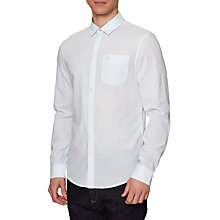 Buy Original Penguin Long Sleeve Slub Linen Feeder Shirt Online at johnlewis.com