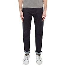 Buy Ted Baker Obtest Original Fit Jeans, Rinse Denim Online at johnlewis.com