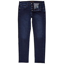 Buy Ted Baker Slippa Straight Fit Jeans, Rinse Denim Online at johnlewis.com