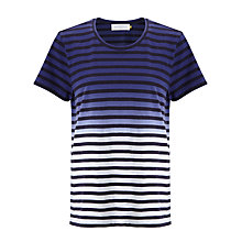 Buy Collection WEEKEND by John Lewis Stripe Ombre T-Shirt, Blue/White Online at johnlewis.com