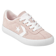 Buy Converse Breakpoint Trainers, Pink Suede Online at johnlewis.com