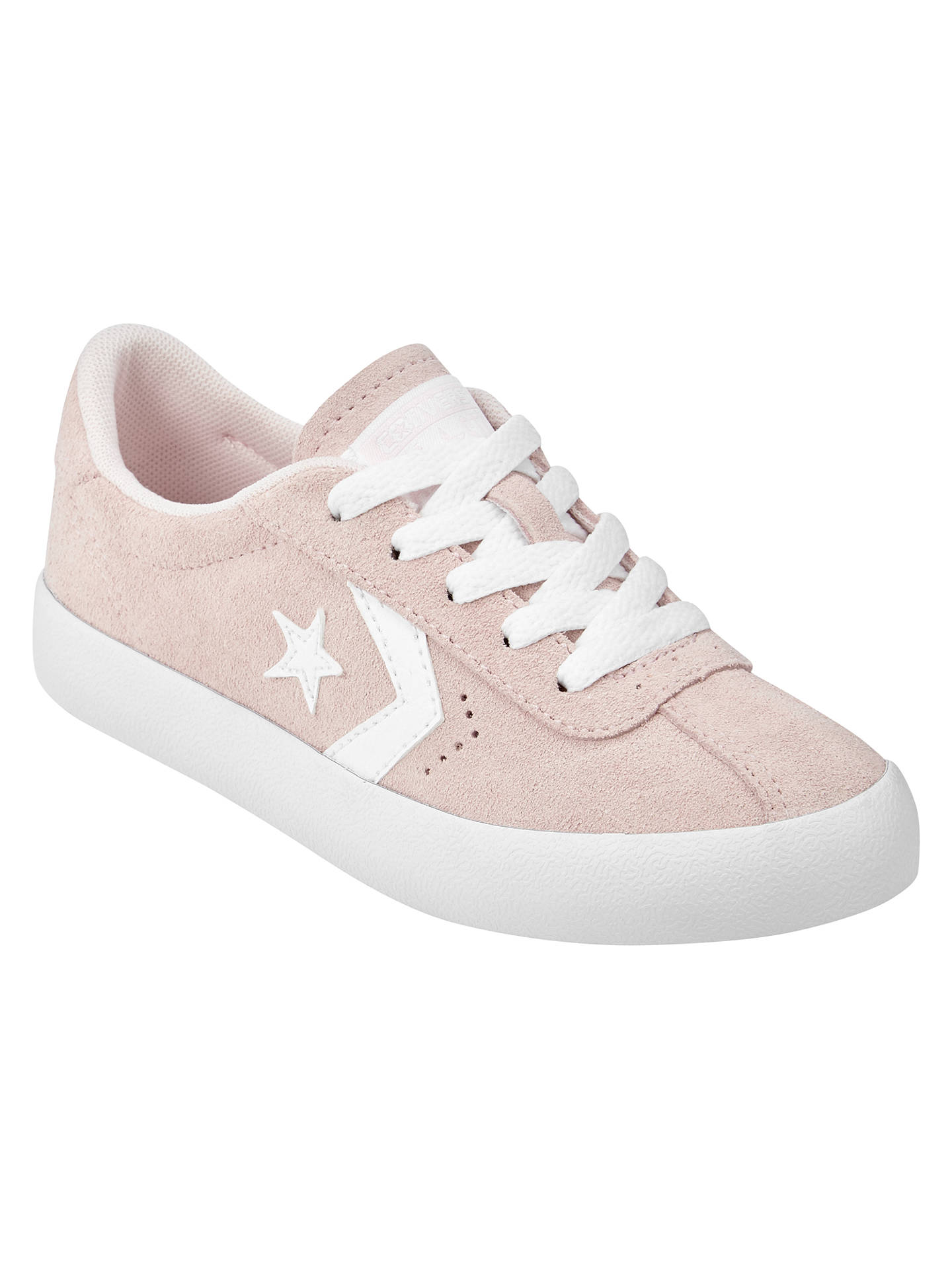 775ef873a259 Buy Converse Breakpoint Trainers, Pink Suede, 1 Online at johnlewis.com ...