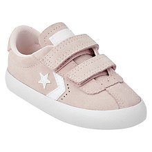 Buy Converse Children's Rip-Tape Breakpoint Trainers, Pink Suede Online at johnlewis.com