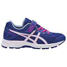 Buy Asics Children's Pre-Galaxy 9 PS Riptape Laced Trainers Online at johnlewis.com
