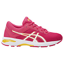 Buy Asics Children's GT-1000 6 Running Shoes, Pink Online at johnlewis.com