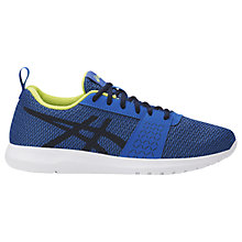 Buy Asics Children's Kanmei GS Lace Up Trainers, Blue Online at johnlewis.com