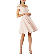 Buy Coast Ava Structured Shirt Dress, Blush Online at johnlewis.com