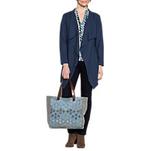 Buy East Jersey Waterfall Jacket, Navy Online at johnlewis.com