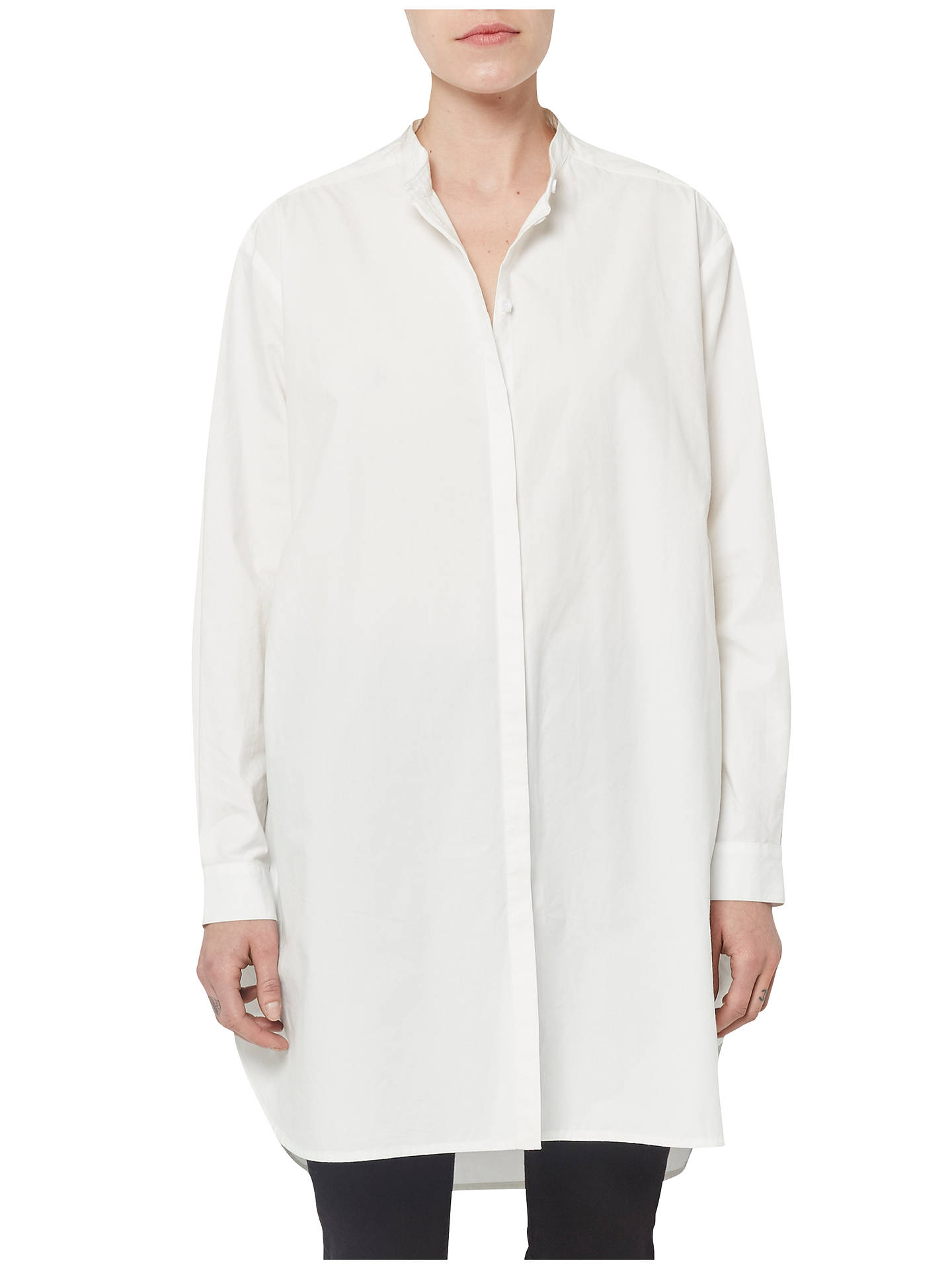 7df269a78a0 Buy French Connection Willis Cotton Shirt Dress, Summer White, 6 Online at  johnlewis.