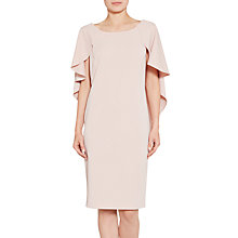 Buy Gina Bacconi Moss Crepe Dress With Cape Detail Online at johnlewis.com