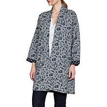 Buy East Marissa Gudri Coat, Flamingo Online at johnlewis.com