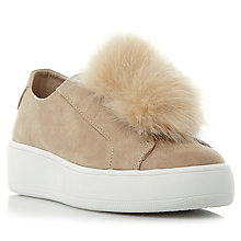 Buy Steve Madden Bryanne Pom Pom Trainers Online at johnlewis.com