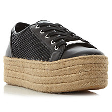 Buy Steve Madden Mars Flatform Trainers Online at johnlewis.com