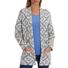 Buy Betty Barclay Textured Jacket, Blue/White Online at johnlewis.com