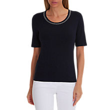 Buy Betty Barclay Embellished Neckline T-Shirt Online at johnlewis.com