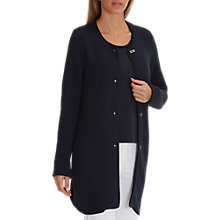 Buy Betty Barclay Unlined Long Jacket, Dark Sky Online at johnlewis.com