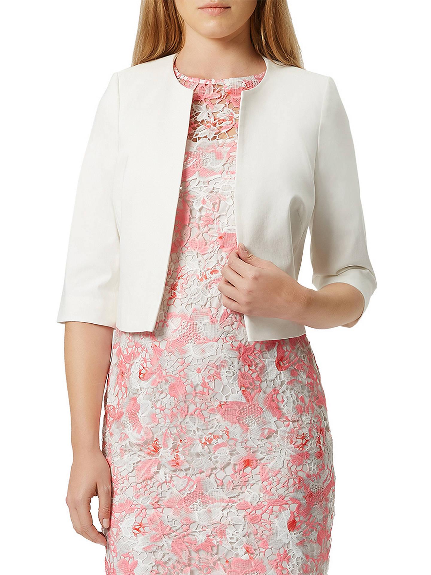 75d3a095a Damsel in a Dress Jacardie Jacket, Cream