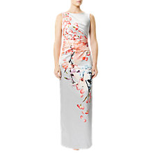 Buy Damsel in a dress Treasure Bellini Dress, Grey/Multi Online at johnlewis.com