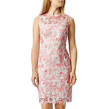 Buy Damsel in a dress Amily Dress, Raspberry/Multi Online at johnlewis.com