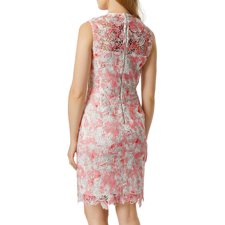 Damsel In A Dress Bellini Dress: Damsel In A Dress Amily Dress, Raspberry/Multi At John Lewis