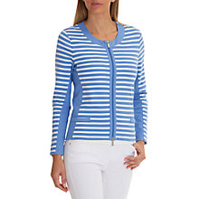 Buy Betty Barclay Sporty Striped Cardigan, Blue/White Online at johnlewis.com